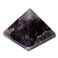 Pyramid in Natural Amethyst-135 gms