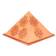 Navgraha Yantra Pyramid in Copper