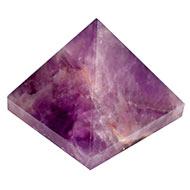 Pyramid in Natural Amethyst - 98 gms