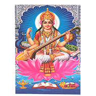 Maa Saraswati Photo - Medium