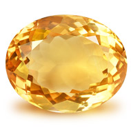 Yellow Citrine - 9 to 11 carats - Oval