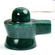 Green Jade Shivaling - 96 gms