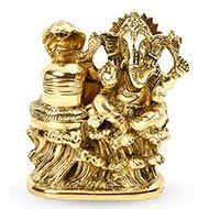 Ganesha with Shivlingam