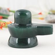 Columbian Green Jade Shivling - 73 gms