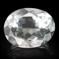 White Topaz - 3 to 4 carats - Oval