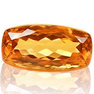 Yellow Citrine - 7.75 carats - Cushion