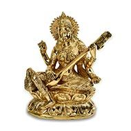Saraswati in Brass - XIII