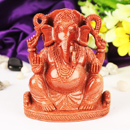 Sunstone Ganesha - 816 gms