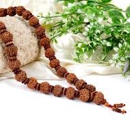 7 Mukhi Mahalakshmi Kantha - 32+1 beads