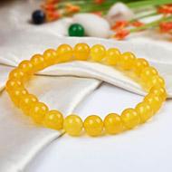 Yellow Jade Bracelet - Design I