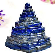 Lapis Lazuli Shree Yantra - 116  gms