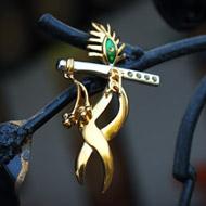 Gold Plated Krishna Locket Pendant