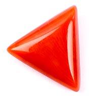 Italian Coral triangular - 8.70 carats