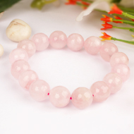 Rose Quartz faceted Bracelet - 12mm