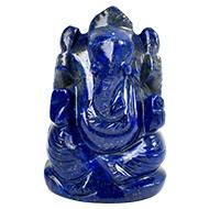 Lapis Lazuli Ganesha - 79 gms