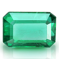 Emerald 2.35 carats Zambian - Octagon