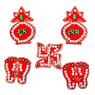 Shubh Labh Sticker - Set of 5