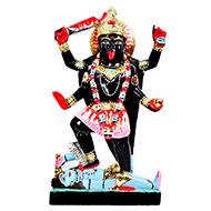 Maa Kaali in black marble idol - IV