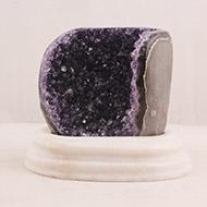Amethyst Gemstone Rock - VII