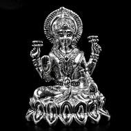 Laxmi Idol in pure silver