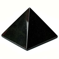 Pyramid in Black Tourmaline - II
