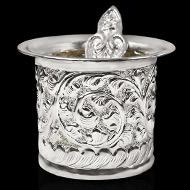 Panchapatra in German Silver - Designer