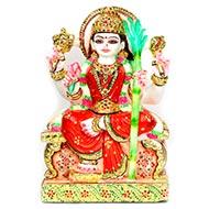 Tripur Sundari Devi Marble Idol - II