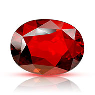 Hessonite Garnet - Gomed - 10.95 carats