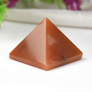 Pyramid in Red Jade