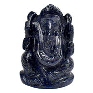 Lapis Lazuli Ganesha - 80 gms