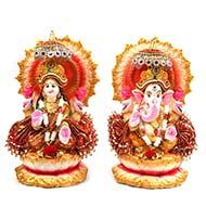 Ganesh Laxmi Idol Set - I