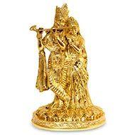 Radhe Krishna in Brass - V