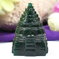 Green Jade Shree Yantra - 95 gms