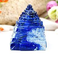 Lapis Lazuli Shree Yantra - 237 gms