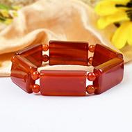 Red Carnelian Bracelet - Design III