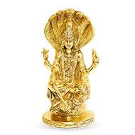 Vishnu Statue in Brass - I