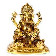Ganesha in Brass - XXI