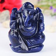 Blue Sodalite Ganesha - 65 gms