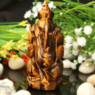 Tiger Eye Ganesha - 102 gm