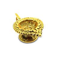 Om Diya in Brass