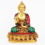 Buddha Statue Stone Decoration - II