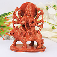 Durga Maa in Sunstone - 718 gms