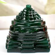 Green Jade Shree Yantra - 66 gms