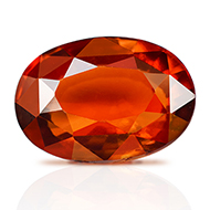 Hessonite Garnet - Gomed - 5 - 6 Carats