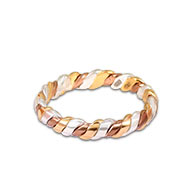 3 metal Astrological Ring