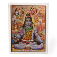 Shiva Avatar Glittering Photo
