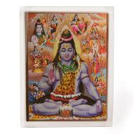 Shiva Avatar Glittering Photo