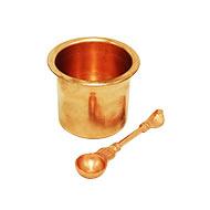 Panchapatra - copper
