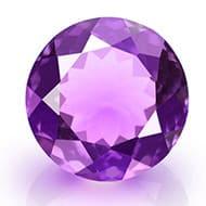 Amethyst - 4.50 carats - Round