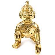 Bal Krishna in Brass-III